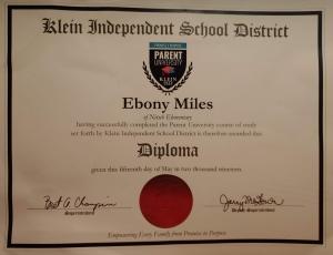 Parent University Diploma