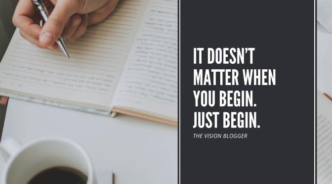 to begin, begin…